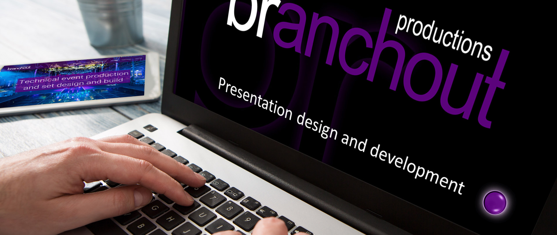 Presentation design and development